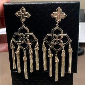Lara 14k Chandelier Tassel Earrings